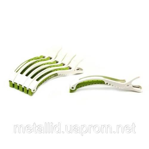 Зажимы для волос YRE пластик 6 шт/уп