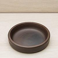 "Тарелка гончарная ""Кеци"", красная глина, диаметр 15 см, фото 1"