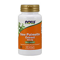 NOW Saw Palmetto Extract 160 mg (120 softgels )