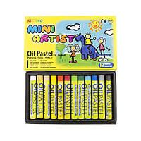 Пастель олійна MINI MOPS-12 12кол Mungyo