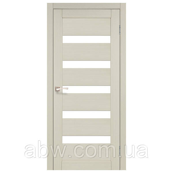 Міжкімнатні двері Korfad PR-03 білений дуб