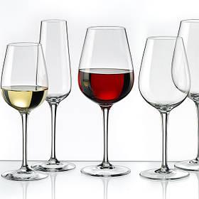 Бокалы, стаканы, графины