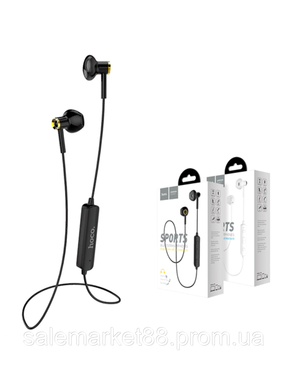Hoco Беспроводные Bluetooth Наушники ES21 Sports Black
