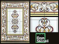 Светящиеся вставки в потолки и фальш-окна (светящиеся картины, панно)