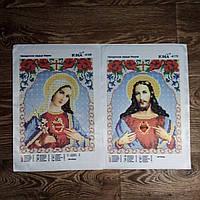 """Схеми бісером пара """"Непорочне серце Ісуса"""" та """"Непорочне серце Марії"""""""