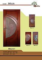 Двери деревянные межкомнатные сосна DELLA