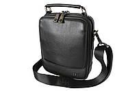 Мужская сумка кожаная черная HT 9326-5, фото 1