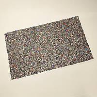 Коврик для маникюра в камни размер 40*24 см