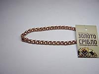 Золотой браслет, размер 21 см