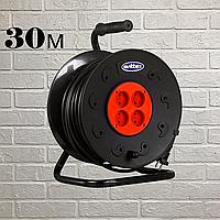 Удлинитель SVITTEX на катушке 30м с сечением провода 2х0,75 мм², фото 1