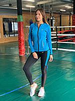 Комплект костюм спортивный компрессионный  женский  Nike Найк  (  L-XL ), фото 1