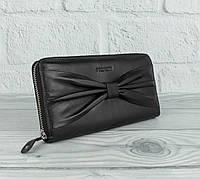 Кошелек кожаный на молнии Prensiti 42004 черный, фото 1