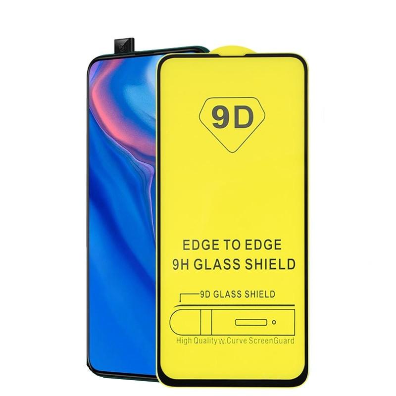 Защитное стекло TDG 9D для Huawei P Smart Pro Full Glue черный 0,26 мм в упаковке