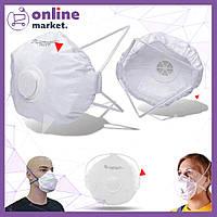 Защитная маска с клапаном 213 / Респиратор защитный