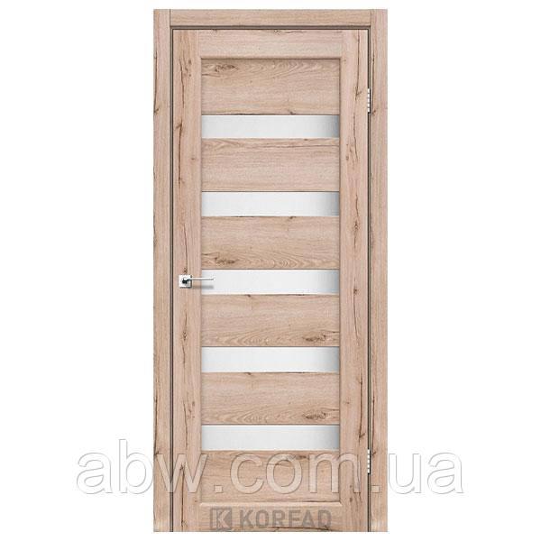 Міжкімнатні двері Korfad PR-03 дуб табакко
