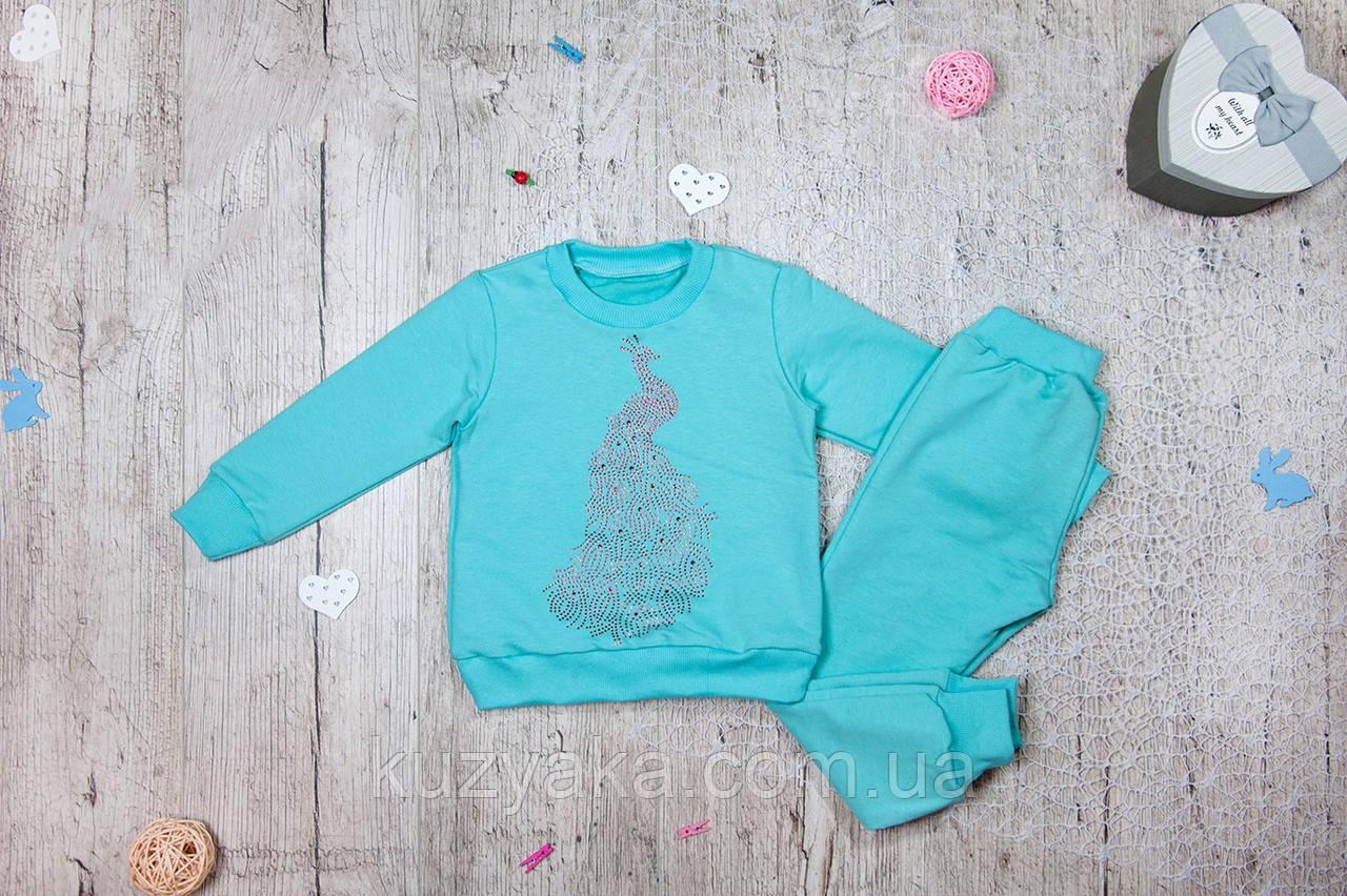 Детский костюм Павлин для девочки на рост 86-128 см