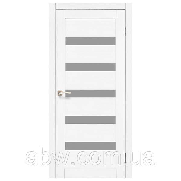 Міжкімнатні двері Korfad PR-03 білий ясен