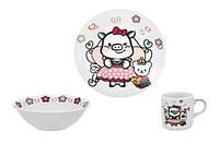 Детский набор столовой посуды Limited Edition Sweety из 3 предметов C535