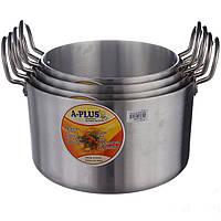 Набор алюминиевых кастрюль A-PLUS 8 предметов