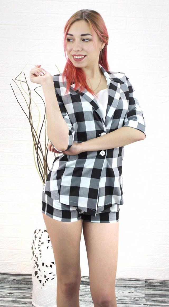 Интернет магазин Arut. Одежда по оптовым ценам. Комплект шорты и пиджак женский на лето