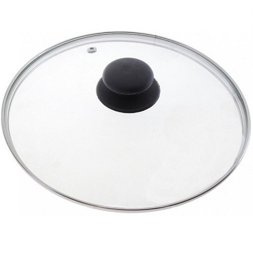 Крышка для кастрюли, сковороды стеклянная 32 см