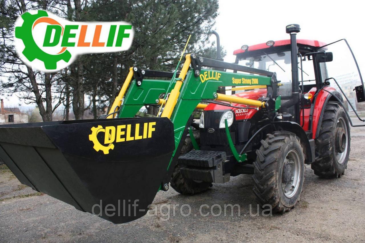 Погрузчик на трактор ЮТО Х1204 (YTO Х1204) - Деллиф Супер Стронг 2000