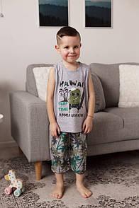 "Модний бавовняний комплект з маєчкою для хлопчика ""Hawaii"""