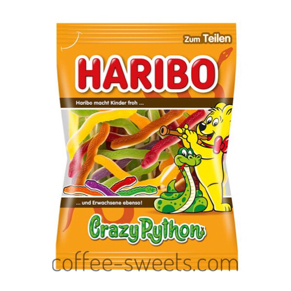 Желейные жевательные конфеты Haribo Crazy Python 175 g