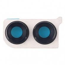 Стекло камеры Huawei Honor 8X JSN-L21, JSN-AL00 с рамкой черного цвета