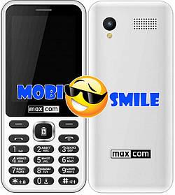 Телефон Maxcom MM814 white Гарантія 12 місяців
