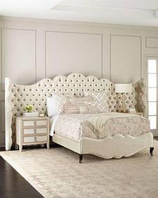 Кровать Дизайнерская Под Заказ Элегия-70 (Мебель-Плюс TM)