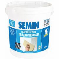 Клей SEMIN «COLLE TDV» влагостойкий для стеклохолста и стеклообоев, 10кг