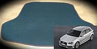 Ворсовый коврик багажника Audi A3 хетчбек '12-