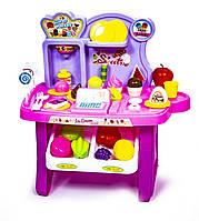 Детский прилавок сладостей розовый 922-55