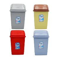 Ведро для мусора пластиковое Zambak Plastic 10 л