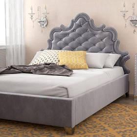 Кровать Дизайнерская Под Заказ Элегия-71 (Мебель-Плюс TM)