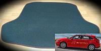 Коврик багажника Audi A3 Sportback e-tron 13-. Текстильные автоковрики, фото 1