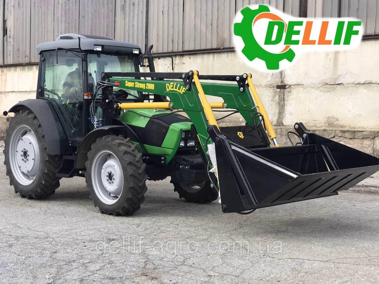 Кун на трактор (дойц) Deutz-Fahr 5105 - Деллиф Супер Стронг 2000