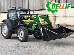 Кун на трактор (дойц) Deutz-Fahr 5105 - Делліф Супер Стронг 2000