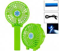 Мини-вентилятор Handy Mini Fan, вентилятор USB (черный ,зеленый, желтый, синий)