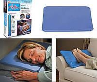 Охлаждающая Лечебная Подушка Chillow Термоподушка для Сна, фото 1
