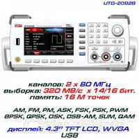 UNI-T UTG2082B генератор сигналов произвольной формы,80МГц,320МВ/с.,возможна калибровка в УкрЦСМ, фото 1