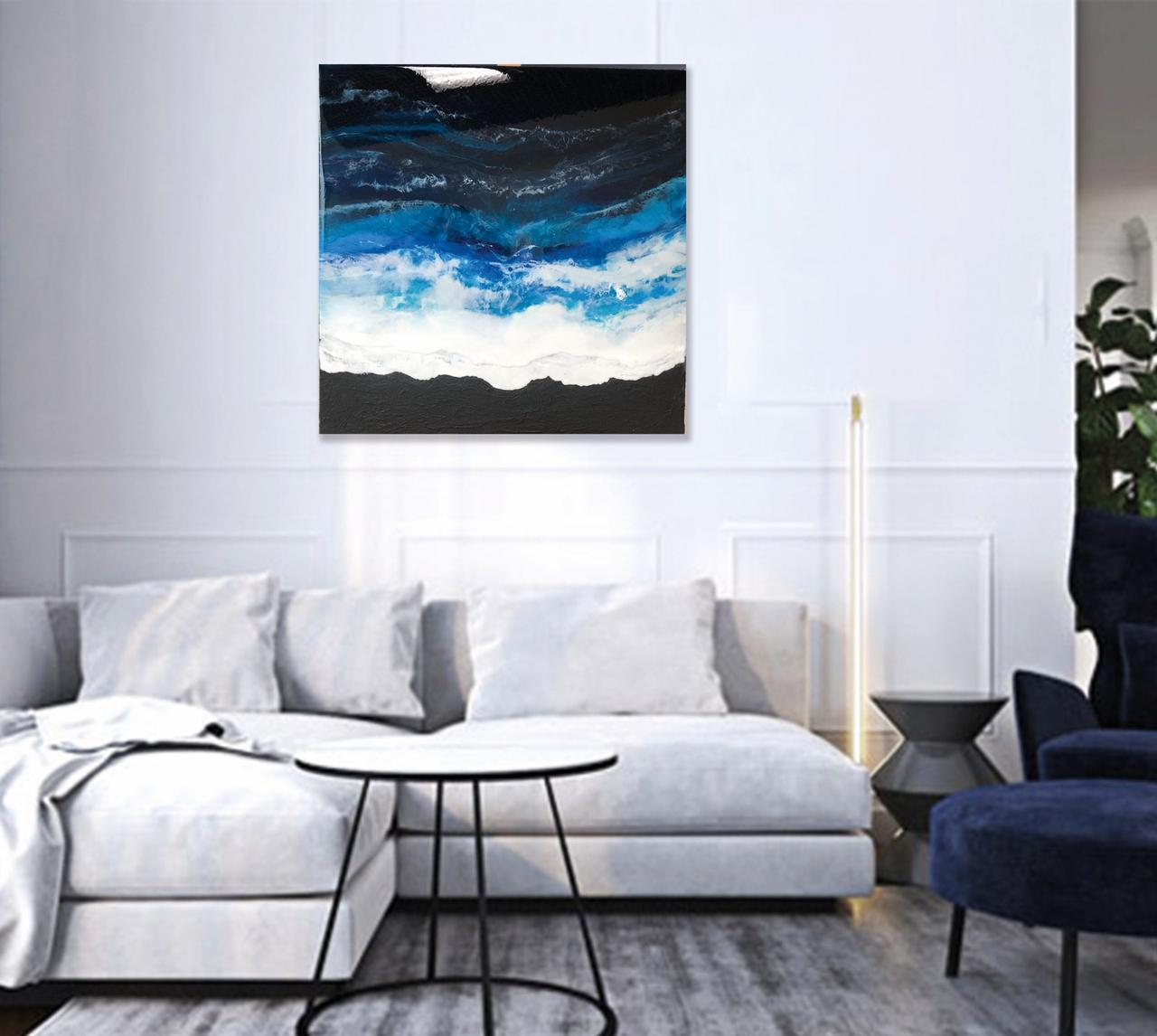 Картина з епоксидної смоли / Картина из эпоксидной смолы / Art resin