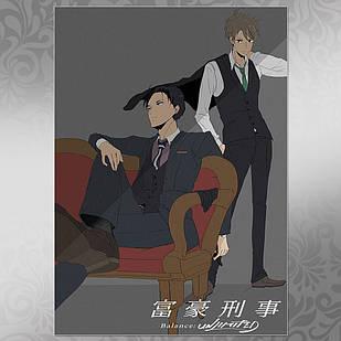Плакат Аниме Fugou Keiji 002