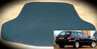 Коврик багажника Audi A4 (B5) Avant '96-01. Текстильные автоковрики, фото 1