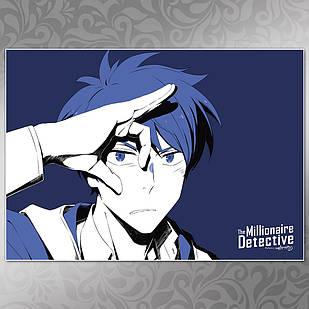 Плакат Аниме Fugou Keiji 007