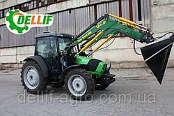 Кун на трактор (дойц) Deutz-Fahr K120 - Делліф Супер Стронг 2000