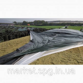 Силосна плівка чорно/біла 22х50 150Мк