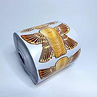 Формы одноразовые для наращивания ногтей  в рулоне 500 шт