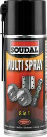 Универсальный аэрозоль Soudal Multi Spray 400 мл